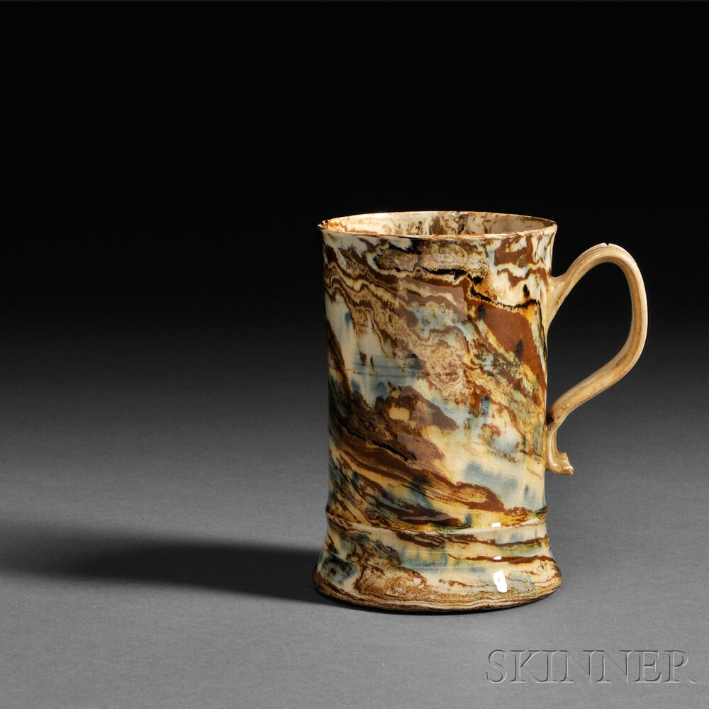 Staffordshire Solid Agate Tankard, (Lot 1078, Estimate $2,000-$4,000)