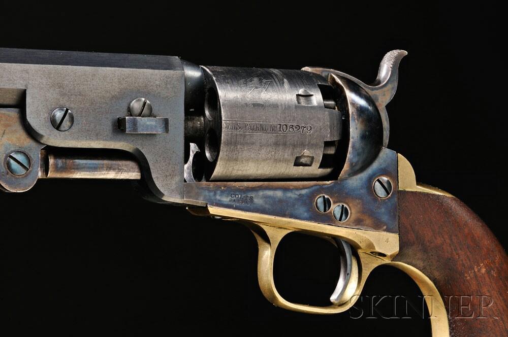 Colt Model 1851 Navy Revolver, c. 1861 (Lot 45, Estimate $18,000-$22,000)