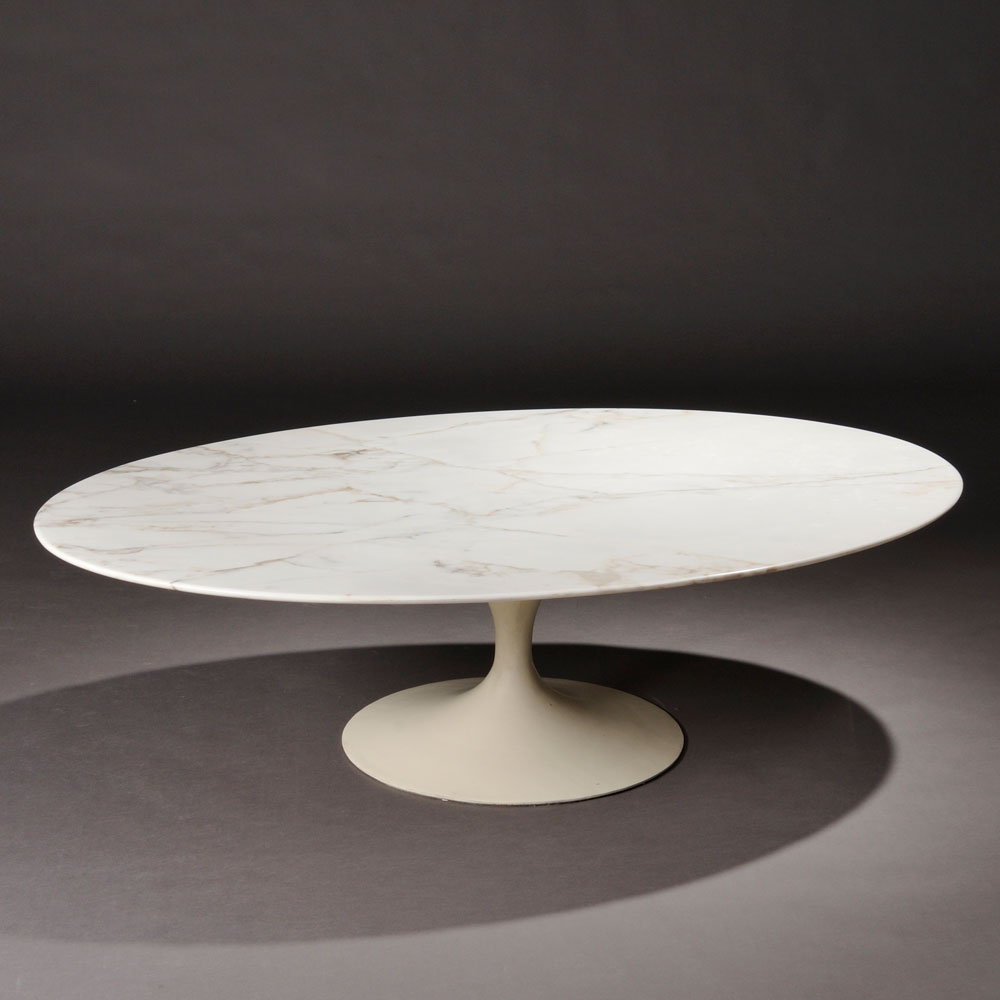 Eero Saarinen, Tulip Coffee Table, Knoll, New York, Mid 20th Century (Lot  445, Estimate $700 $900)