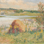 John Leslie Breck (American, 1860-1899), Marsh View, Possibly Annisquam   (Lot 421, Estimate $70,000-$90,000)