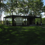 The Glass House designed by Philip Johnson, New Canaan, Connecticut