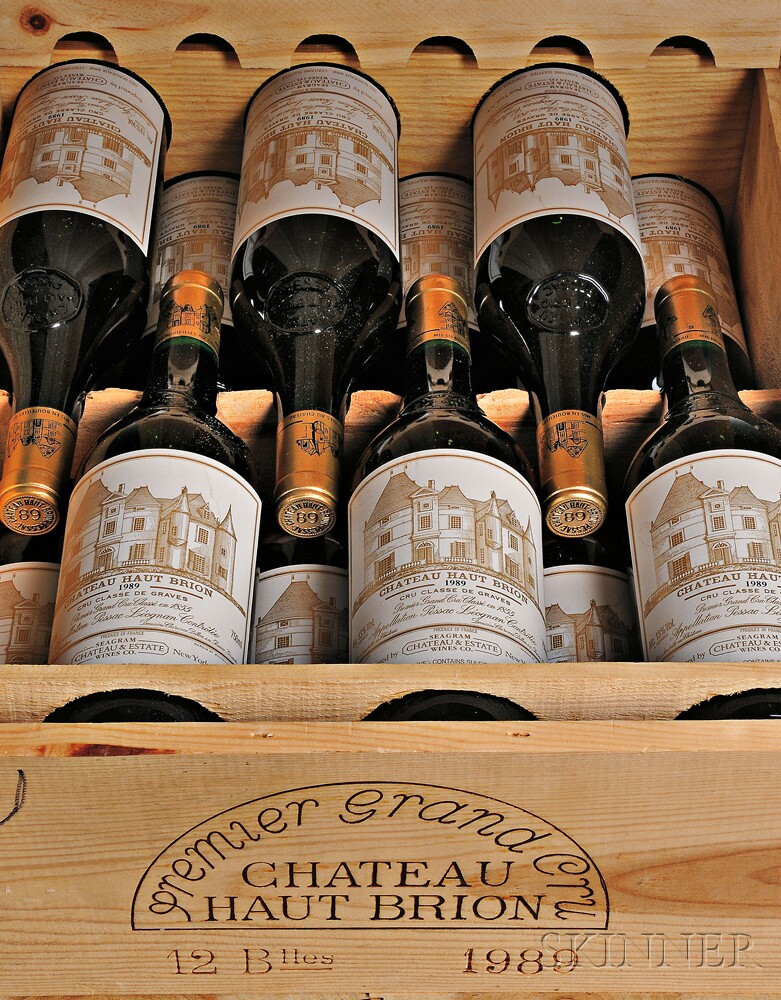 Chateau Haut Brion 1989 (Lot 25, Estimate $10,000-$15,000)