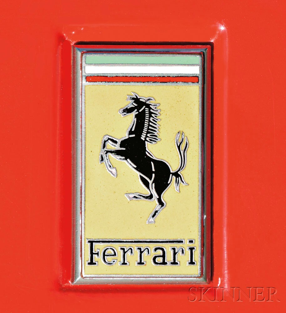 1980 Ferrari 308GTSI, VIN# 8A0032639 (Lot 1, Estimate $28,000-$32,000)