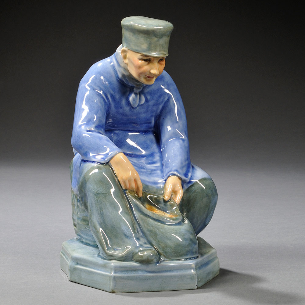 Royal Doulton Picardy Peasant, England, first half 20th century (Lot 646, Estimate $1,200-$1,800)