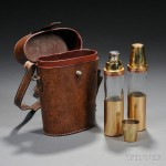 Gucci Cased Twin Flasks (Estimate $600-$900)