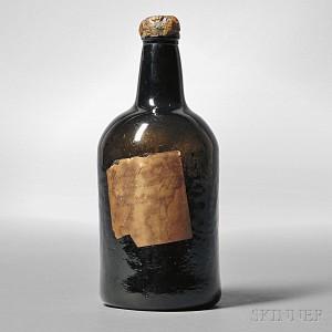 George Washington Wine Bottle, England or America, c. 1792 (Lot 5, Estimate $10,000-$15,000)