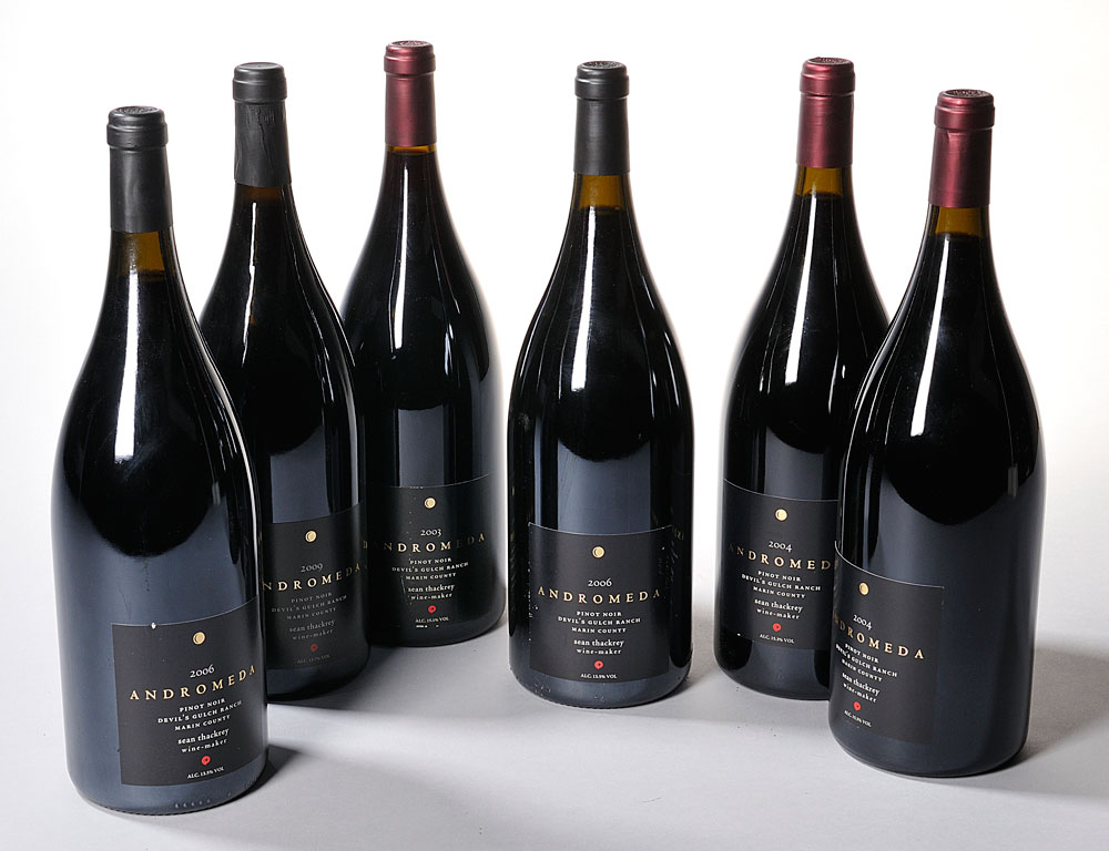 Selection of Sean Thackery Andromeda Wines on Offer