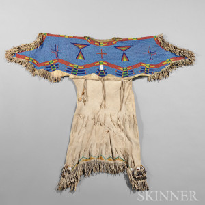 Lakota Beaded Hide Child's Dress (Lot 197, Estimate $20,000-$25,000)