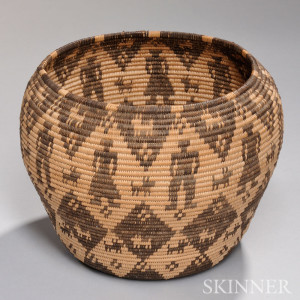 Apache Pictorial Basketry Bowl (Lot 368, Estimate $5,000-$7,000)