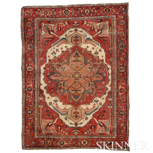 Serapi Carpet, Northwest Persia (Lot 190, Estimate $10,000-$12,000)