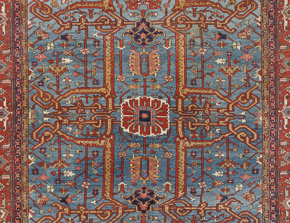 Antique Karadja Carpet, Northwest Persia, late 19th century (Lot 163, Estimate $8,000-$10,000)