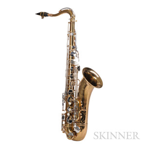 French Saxophone, Henri Selmer, Paris, Model Super Balanced Action, 1952 (Lot 118, Estimate $6,000-$9,000)