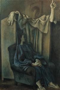 Pavel Tchelitchew (Russian/American, 1898-1957) Annunciation (Lot 325, Estimate $70,000-$90,000)