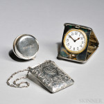 Three American Sterling Silver Items (Lot 1006, Estimate $800-$1,200)