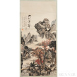 Hanging Scroll Painting, China, 20th century (Lot 1071, Estimate $400-$600)