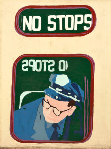 Mary Beams (American, b. 1945)  No Stops (Lot 1017, Estimate $600-$800)