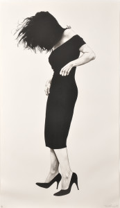 Robert Longo (American, b. 1953) Gretchen, 1984 (Sold for: $23,370)