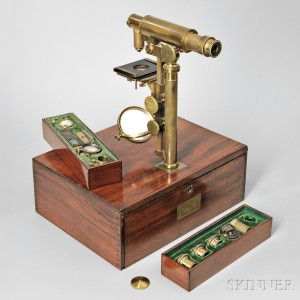 Charles Chevalier Universal Achromatic Microscope, c. 1840 (Lot 376, Estimate $7,000-$9,000)