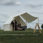 Photographer's tent at Antietam National Battlefield