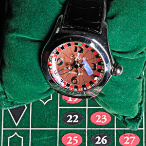 Corum Bubble Casino Roulette Watch, Switzerland, c. 2003 (Lot 1004, Estimate $2,000-$3,000)