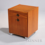 Danish-style Cube Bar, 20th century, (Lot 1076, Estimate $200-$300)
