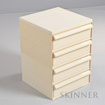 Kartell Stacking Drawers Designed by Simon Fussell, late 20th century (Lot 1097, Estimate $200-$225)