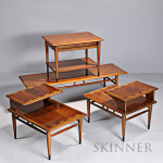 Four Lane Modern Tables, c. 1965 (Lot 1100, Estimate $600-$800)