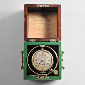 William Edward Frodsham Two-day Marine Chronometer, No. 1 (Lot 209, Estimate: $4,000 - $6,000)