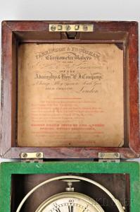 William Edward Frodsham Two-day Marine Chronometer, No. 1 Inscription