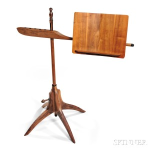 Sam Maloof (1916-2009) Music Stand (Lot 441, Estimate $14,000-$18,000)