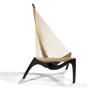 Jorgen Hovelskov Harp Chair (Lot 538, Estimate $2,000-$3,000)