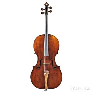 Austrian Violoncello, Gabriel Lembock, Vienna, 1846 (Lot 47, Estimate $30,000-$50,000)