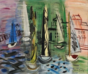 Raoul Dufy (French, 1877-1953) Régates à Trouville (Lot 379, Estimate $120,000-$180,000)