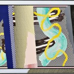 Roy Lichtenstein (American, 1923-1997)  Reflections on Brushstrokes, from the series Reflections, 1990, edition of 68 plus proofs (Lot 70, Estimate $20,000-$40,000)