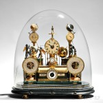 Louis E. Meyer 'Grand Complication' Skeleton Clock