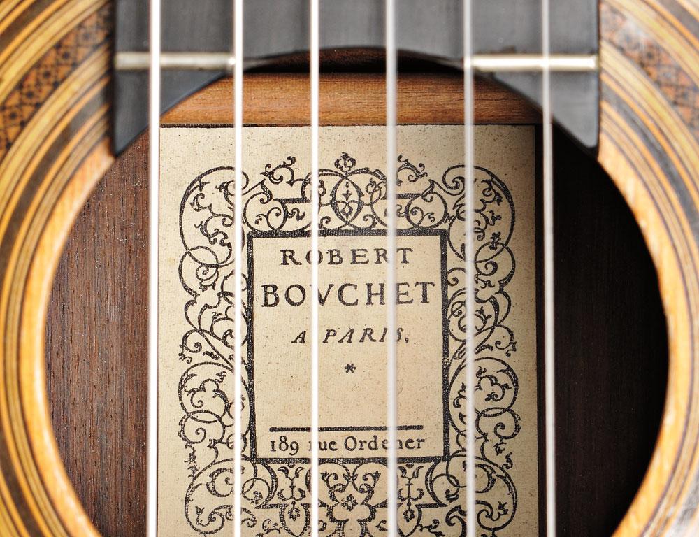 Classical Guitar, Robert Bouchet, 1970