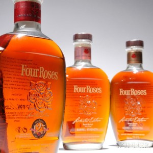 Four Roses Limited Edition Small Batch Vertical, 3 bottles (Estimate $700-1,000)