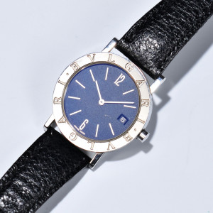 Stainless Steel 'Bulgari Bulgari' Wristwatch (Lot 1083, Estimate $400-$600)