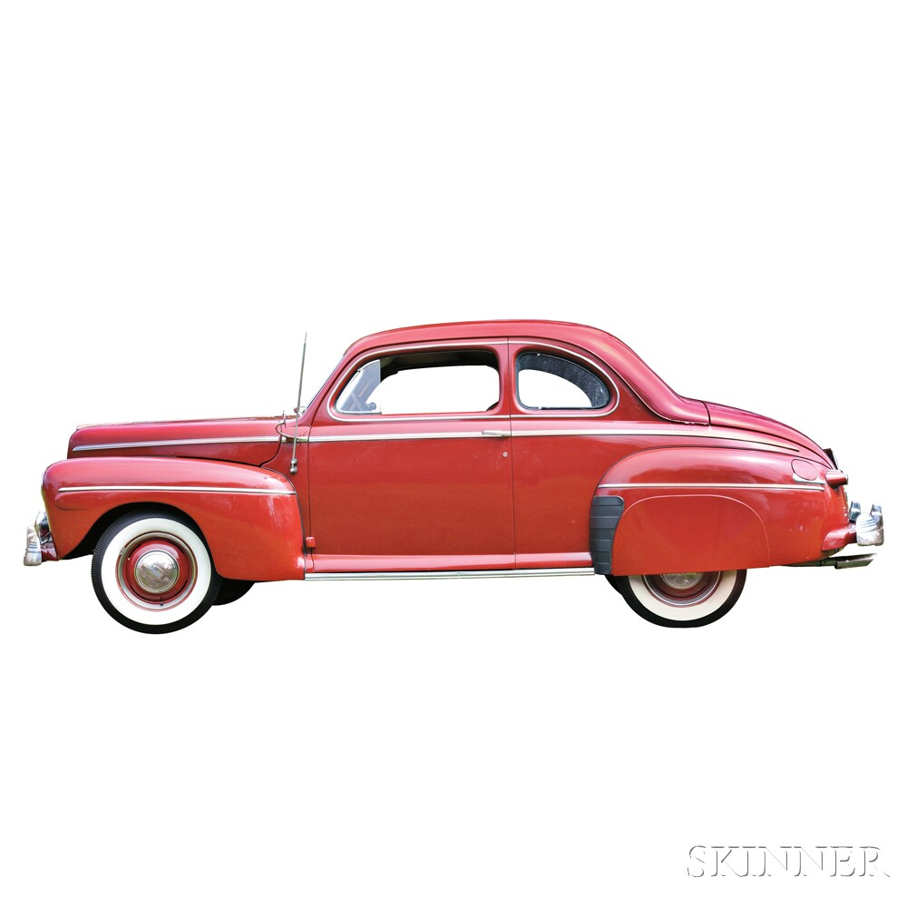 1942 Ford Coupe (Lot 5, Estimate $14,000-$16,000)