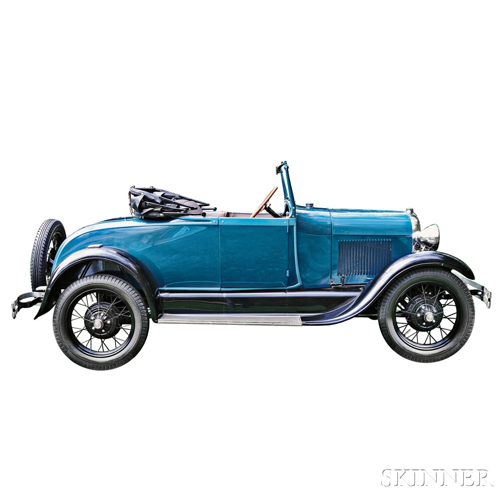 1928 Model A Roadster (Lot 4, Estimate $16,000-$20,000)