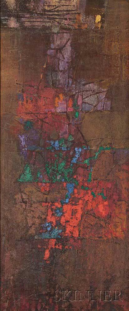 György Kepes (Hungarian/American, 1906-2001) Untitled (Lot 441, Estimate: $7,000-9,000)