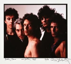 Annie Leibovitz (American, b. 1949) Rolling Stones, New York (Lot 160, Estimate: $4,000-6,000)