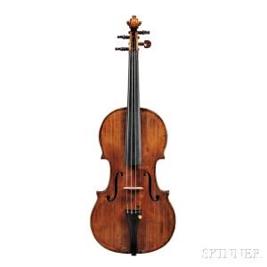 Italian Violin, Giovanni Pistucci, Naples, c. 1900 (Lot 290, Estimate$35,000-50,000)
