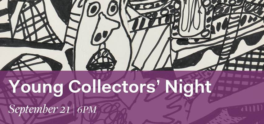 Young Collectors' Night | September 21