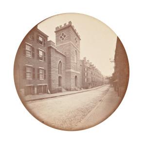 Josiah Johnson Hawes (American, 1808-1901) Bowdoin Street, Boston, c. 1860 (Lot 103, Estimate: $1,000-1,500)
