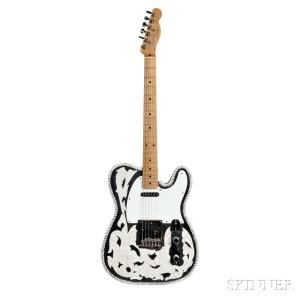 Waylon Jennings Fender Telecaster Electric Guitar, 1953 (Lot 572, Estimate: $100,000-150,000)