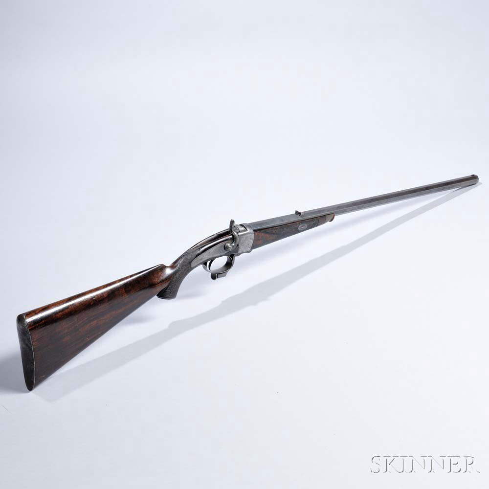 Alexander Henry Rook Rifle, c. late 19th century (Lot 8, Estimate: $4,000-6,000)