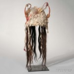 Blackfeet Ermine Skin Headdress, c. last quarter 19th century   (Lot 83, Estimate: $15,000-20,000)