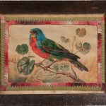 Framed Watercolor Theorem of a Bird (Lot 1543, Estimate: $200-250)