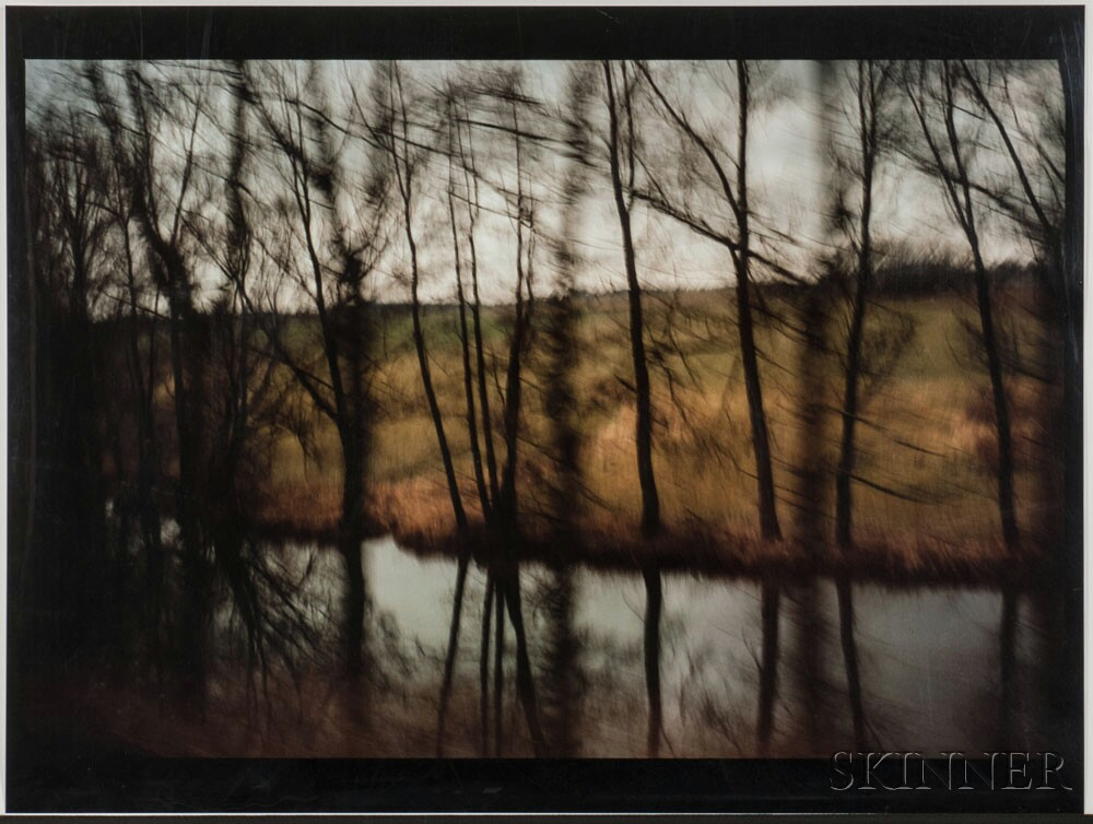 Nan Goldin (American, b. 1953), Trees by the River, Munich, 1994, dye destruction print (Lot 197, Estimate: $6,000-8,000)
